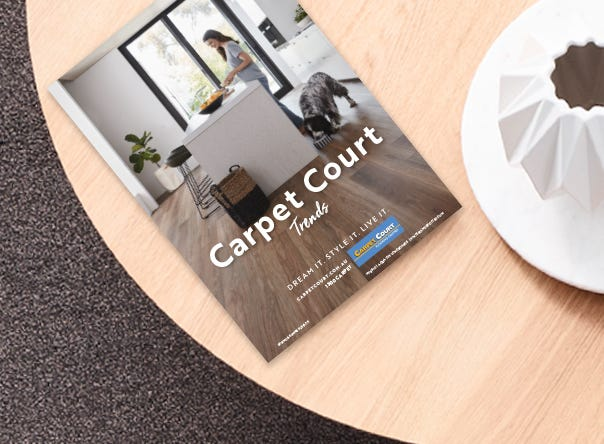 Spring/Summer Catalogue for Carpet Court