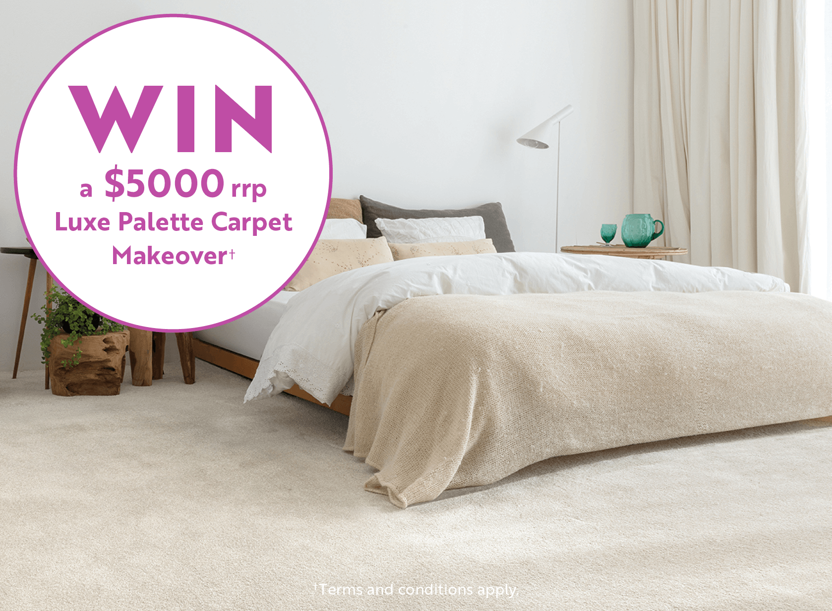 Luxe Palette Competition | Carpet Court