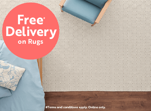 Free delivery on rugs