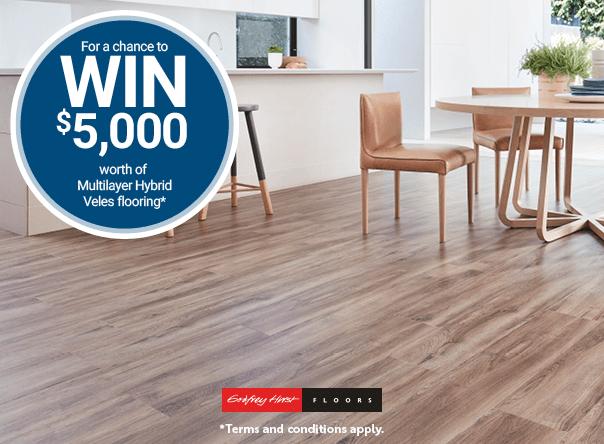 Win $5000 Veles Hybrid flooring