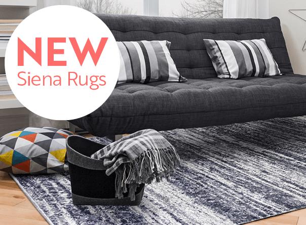 New Siena Rug Range
