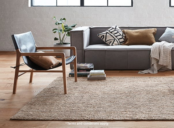 UP TO 50% OFF SELECTED RUGS^