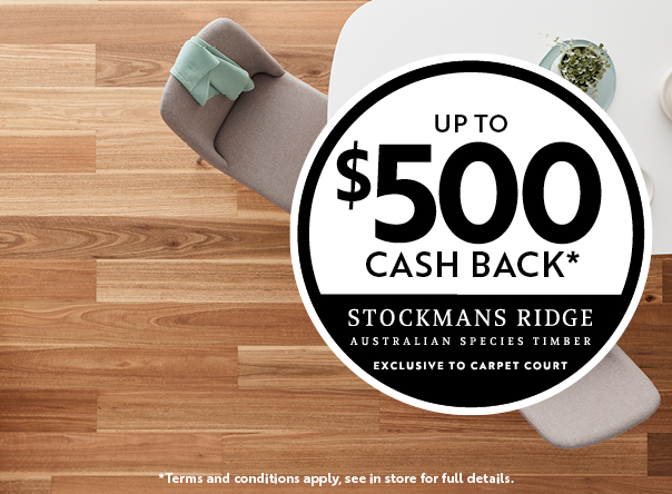 Stockmans Ridge cash back