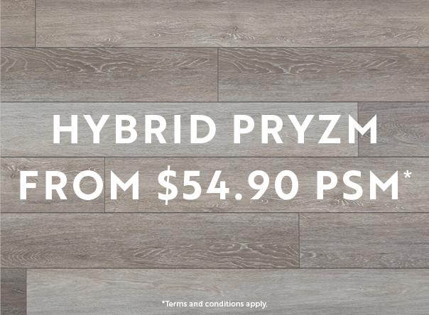 Hybrid Pryzm from $54.90 m2*