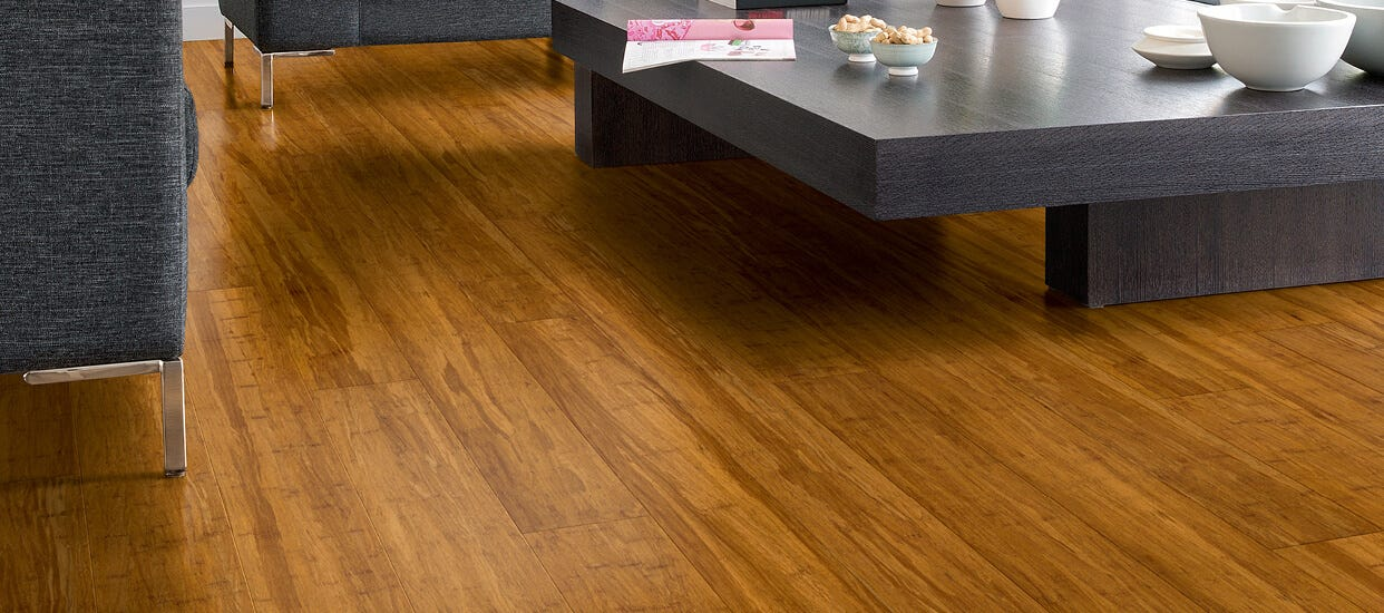 Bamboo Flooring Collection With A Distinctive Finish