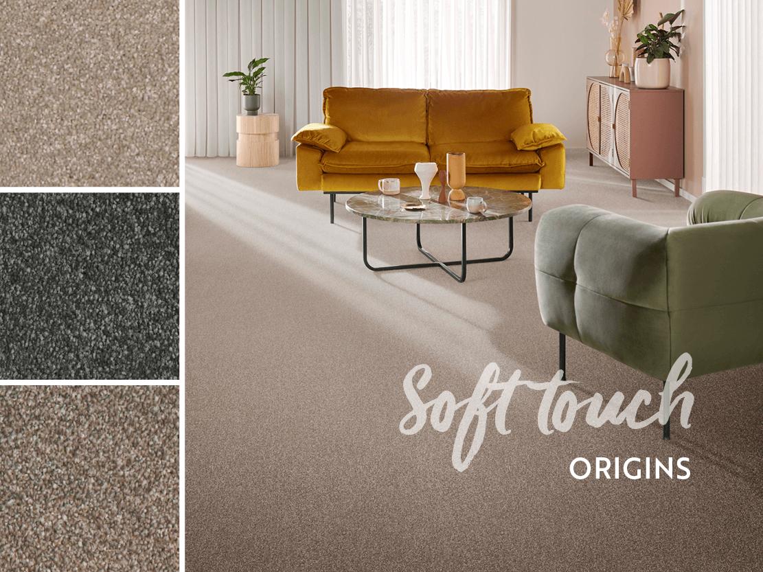 soft textured carpet samples