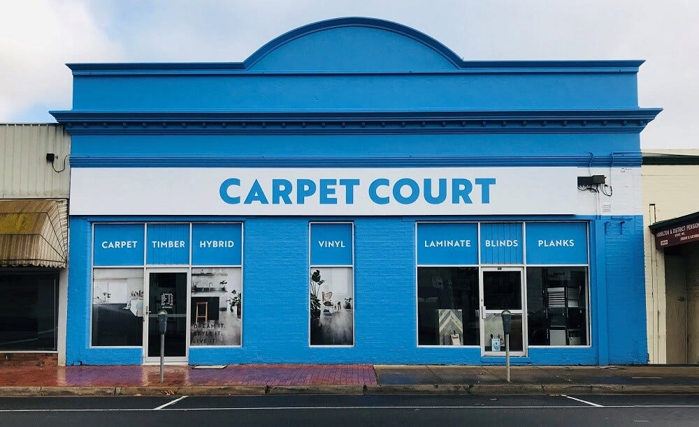franchise opportunities with Carpet Court