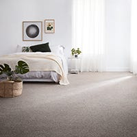 What is plush carpet?