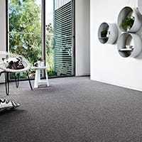 Is loop pile carpet good for high traffic areas?