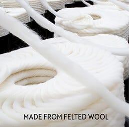 Custom Rug | Felted Yarn