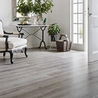 Is it difficult to care for floating laminate flooring?