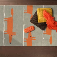 What colours and textures do kids rugs come in?