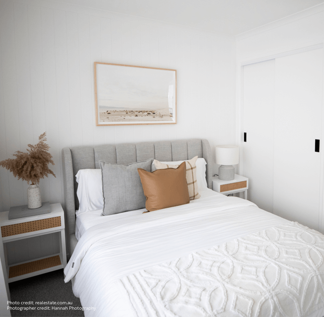Beautiful Bedroom Setting