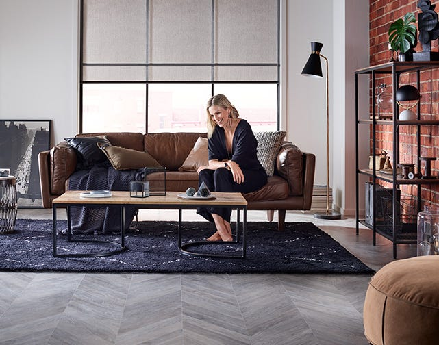 chevron flooring | brooklyn trend