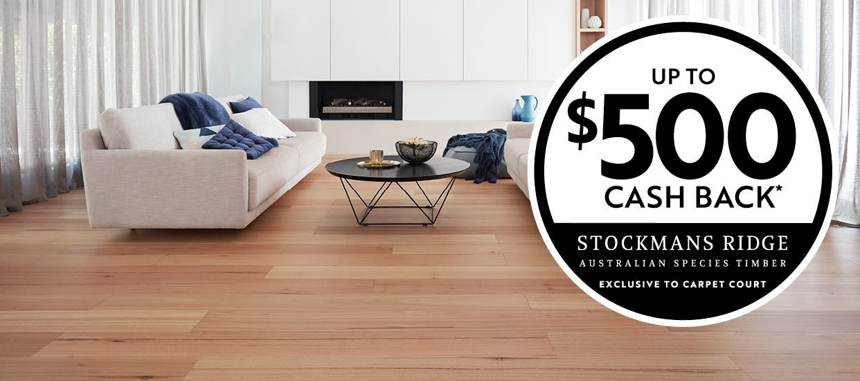 Stockmans Ridge timber flooring