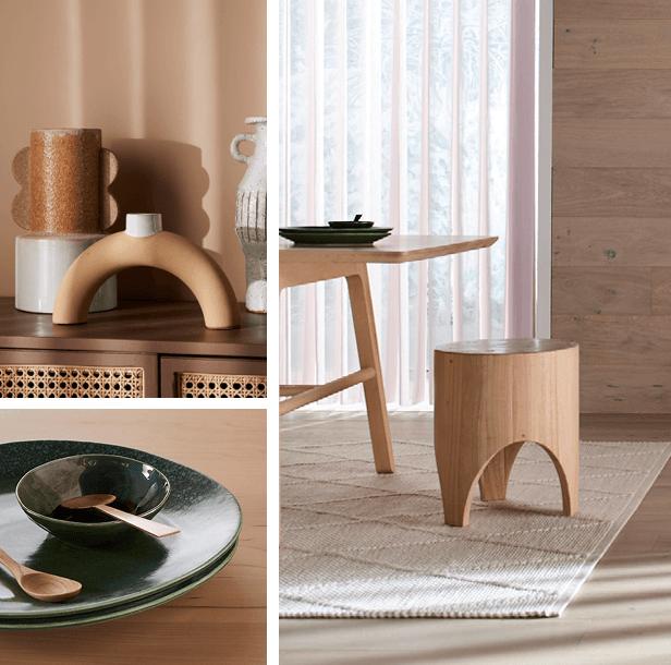 raw luxe interiors