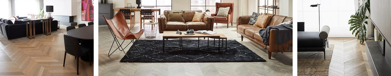 Herringbone and Chevron Flooring | Style Stories