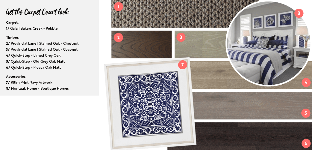 get the hamptons style look carpet court